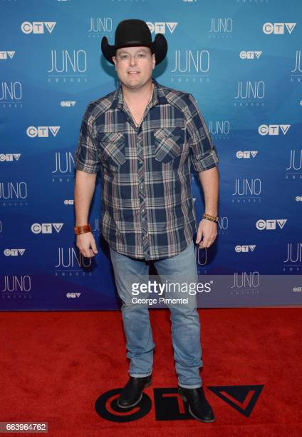 Gord Bamford arrives at the 2017 Juno Awards at Canadian Tire Centre on April 2 2017 in Ottawa Canada