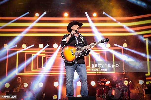 Gord Bamford performs during Canada Day celebrations on Parliament Hill on July 1 2015 in Ottawa Canada