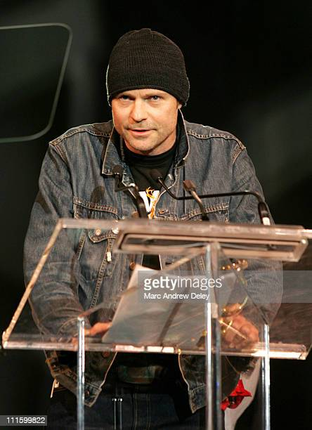 Gord Downie of the Tragically Hip during 2005 Juno Gala Dinner and Awards Show April 2 2005 at Winnipeg Convention Centre in Winnipeg Manitoba Canada