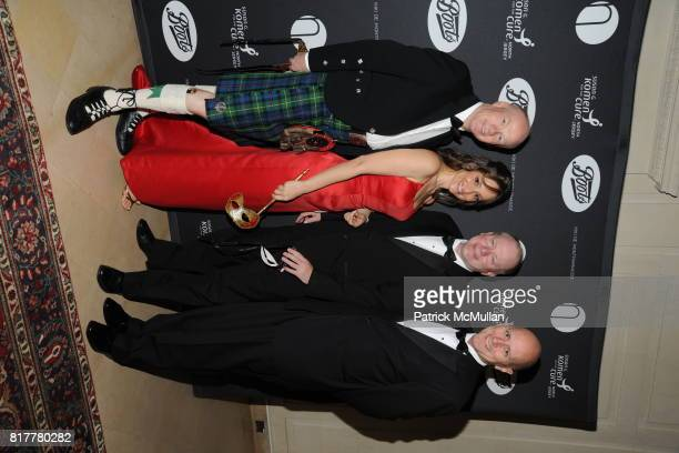 Gordan Farquher Sandra Gabriele Steve Lloyd and Terry Scicluna attend VIP MASKED BALL for Susan G Komen Headlined by Sir Richard Branson Katie Couric...
