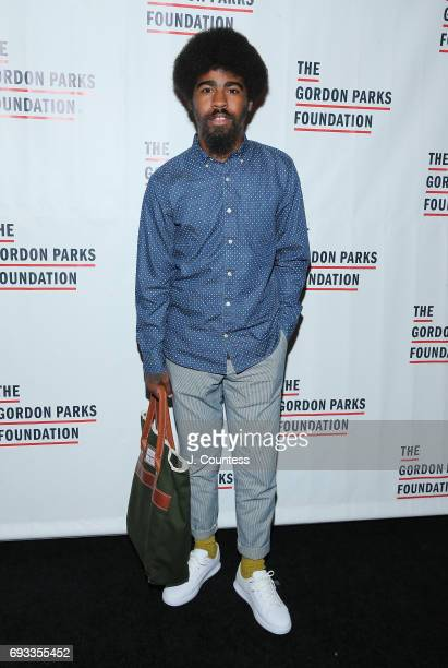 Gordan Parks Fellow Devin Allen attends the 2017 Gordon Parks Foundation Awards Gala at Cipriani 42nd Street on June 6 2017 in New York City