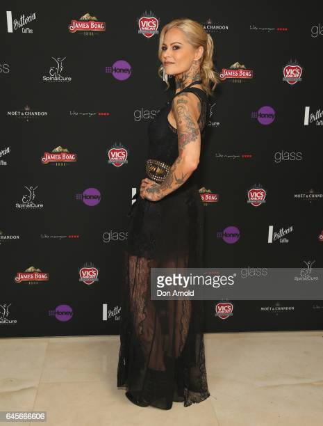 Gordana Willesee arrives ahead of the 89th Academy Awards Industry Lunch at glass brasserie on February 27 2017 in Sydney Australia
