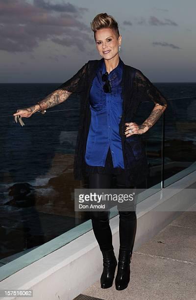 Gordana Willesee arrives at the launch of Flickerfest 2013 at Bondi Icebergs on December 4 2012 in Sydney Australia