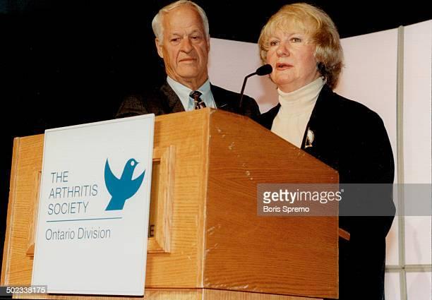Gordie Howe and Wife Colleen