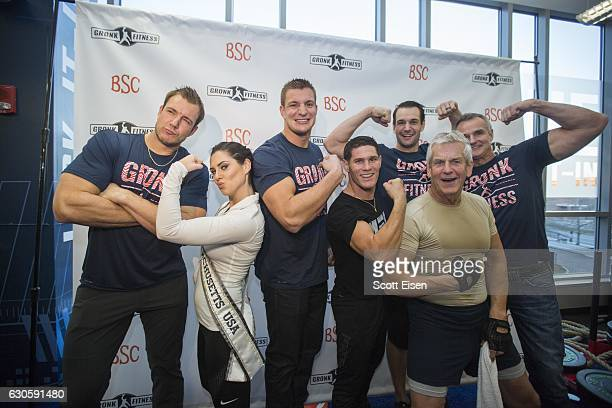 Gordie Jr Gronkowski Miss Massachusetts Julia Scaparotti New England Patriots player Rob Gronkowski UFC Fighter Charles Rosa Dan Gronkowksi Comedian...
