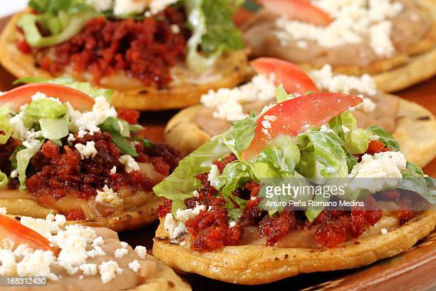 Gorditas, mexican food.