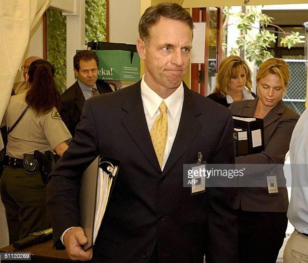 Gordon Auchinsloss Santa Barbara County assistant district attorney leads the prosecution team including lead assistant district attorney Ron Zonin...