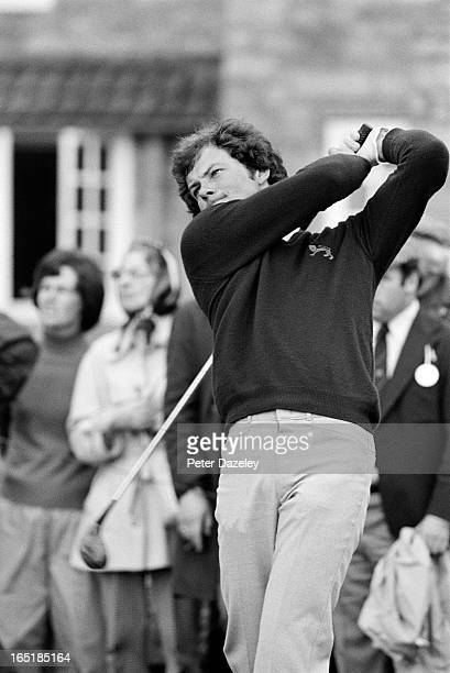 Gordon Brand Jnr of Scotland during the final day of the 1979 Walker Cup Matches at the Honourable Company of Edinburgh Golfers Muirfield on May 31...