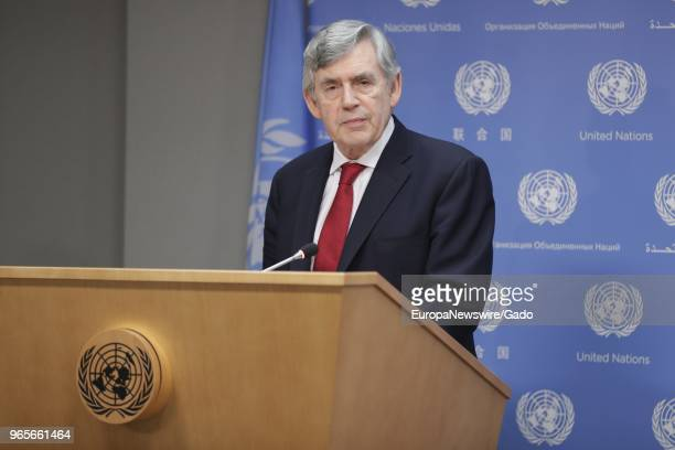 Gordon Brown United Nations Special Envoy for Global Education and Chair of the International Commission on Financing Global Education Opportunity...
