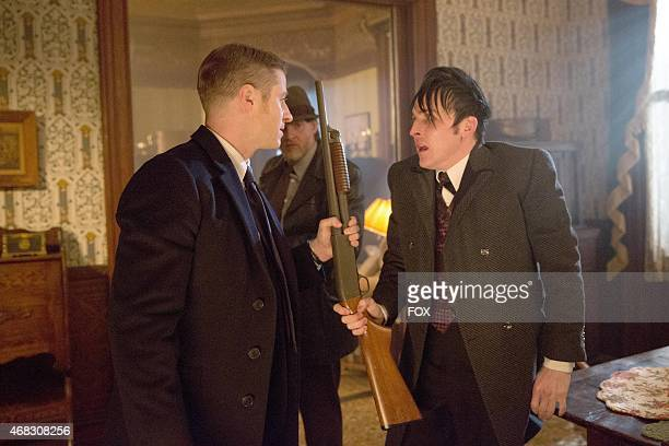 Gordon Bullock and Oswald Cobblepot find themselves in a dangerous situation in the 'Everyone Has A Cobblepot' episode of GOTHAM airing Monday March...