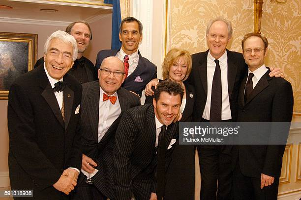 Gordon Davidson Chris Campbell Jack O'Brien Jerry Mitchell Dennis Jones Jane Curtin John Lithgow and David Hyde Pierce attend National Corporate...
