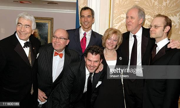 Gordon Davidson Jack O'Brien Jerry Mitchell Dennis Jones Jane Curtin John Lithgow and David Hyde Pierce