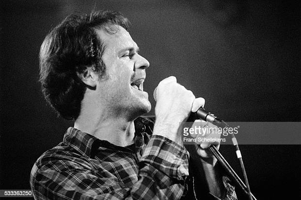 Gordon Downie guitar and vocals performs with the Tragically Hip at the Paradiso on February 5th 1993 in Amsterdam the Netherlands
