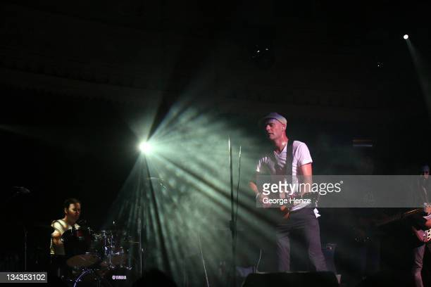 Gordon Downie of The Tragically Hip during a performance at The Paradiso September 25 2007 in Amsterdam Netherlands
