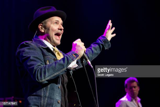 Gordon Downie of Tragically Hip performs at The Fillmore on November 28 2012 in Detroit Michigan