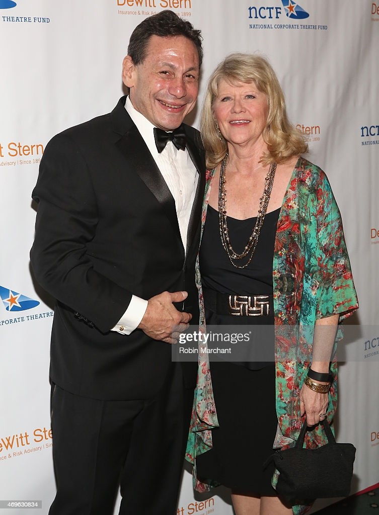 Gordon Edelstein (L) and Judith Ivey attend National Corporate Theatre Fund's 2015 Chairman's Awards Gala at The Pierre Hotel on April 13, 2015 in New York City.