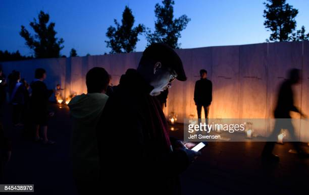 Gordon Felt at the Flight 93 National MemorialÕs annual Luminaria on the eve of 16th Anniversary ceremony of the September 11th terrorist attacks...