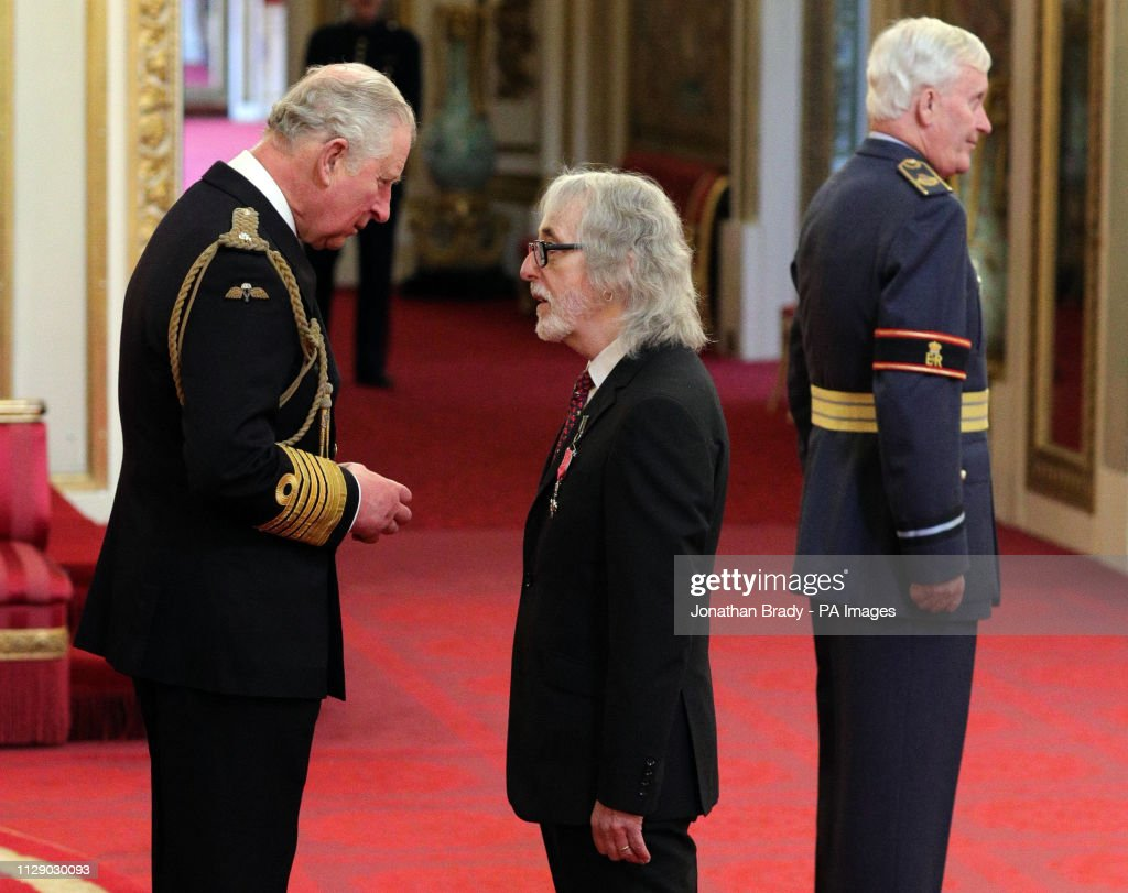 Investiture at Buckingham Palace : News Photo