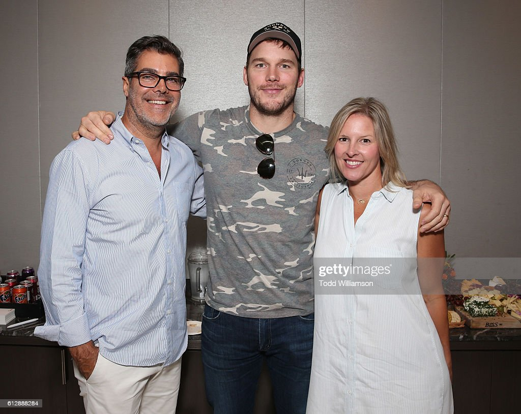 Gordon Gray, Chris Pratt and Kristen Gray attend The ...
