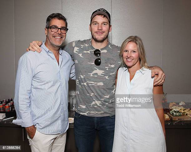 Gordon Gray Chris Pratt and Kristen Gray attend The Charlotte Gwenyth Gray Foundation CallAThon To Cure Batten Disease on September 29 2016 in Los...