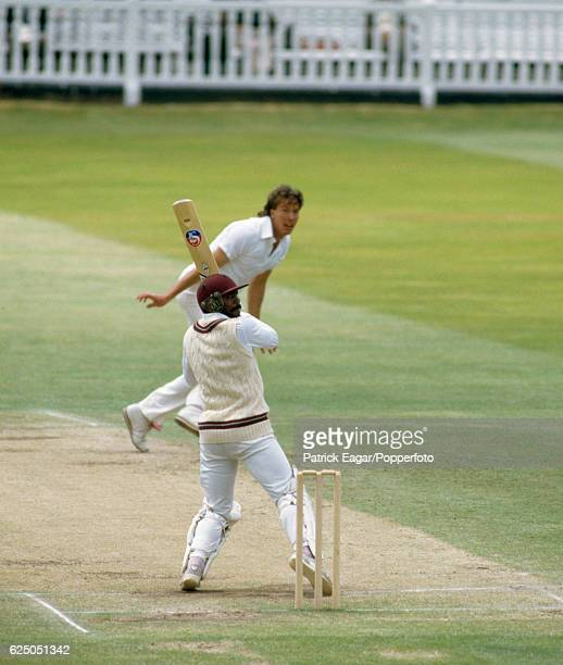 Gordon Greenidge batting for West Indies during his innings of 214 in the 2nd Test match between England and West Indies at Lord's Cricket Ground...