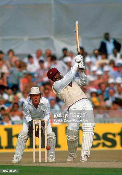 Gordon Greenidge, England v West Indies, 4th Test, Old Trafford, July 1984.