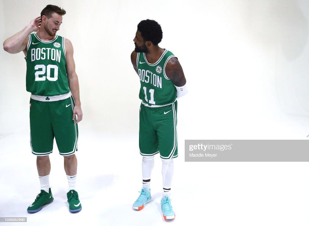 Boston Celtics Media Day : Nachrichtenfoto