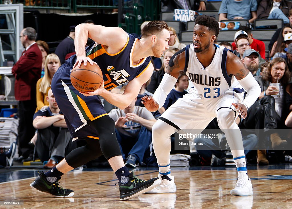 Utah Jazz v Dallas Mavericks : News Photo