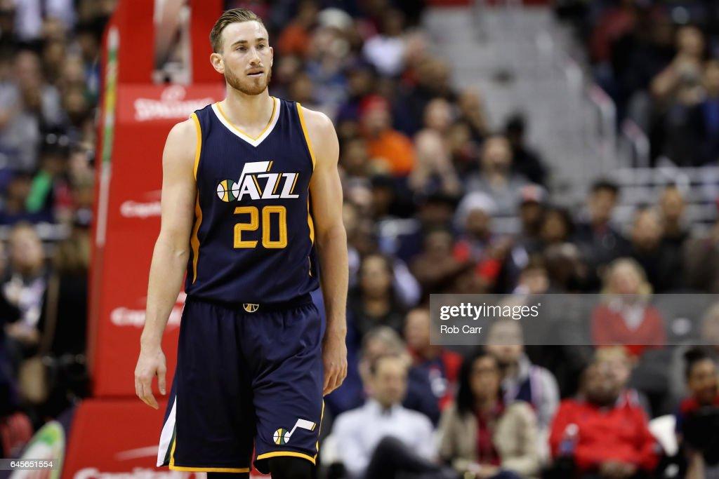 Utah Jazz v Washington Wizards : News Photo