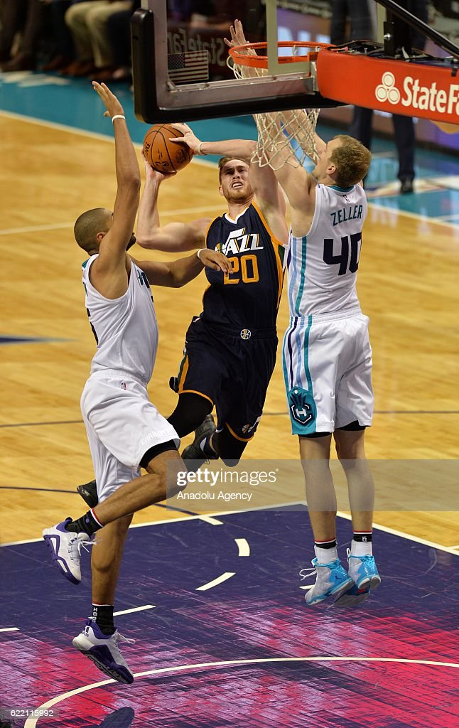 Charlotte Hornets - Utah Jazz : News Photo