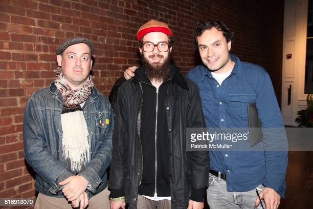 Gordon Hull Jake Sumner and Pietro Quaglia attend JNBY US Launch Party by THE SMILE at JNBY 75 Greene St on May 18 2010 in New York City