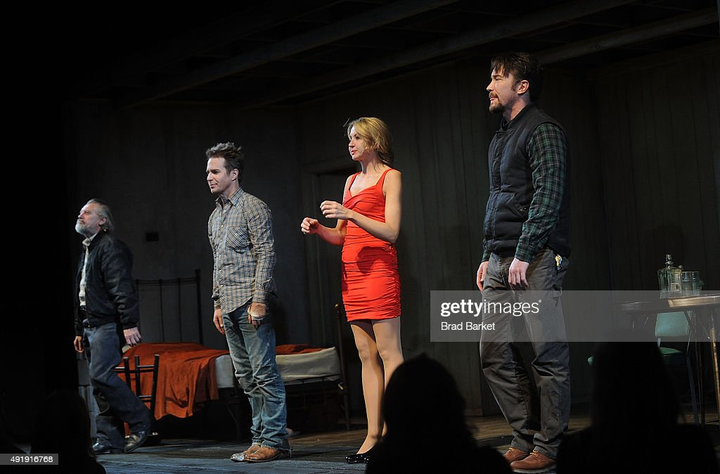 """""""Fool For Love"""" Broadway Opening Night - Arrivals & Curtain Call : News Photo"""