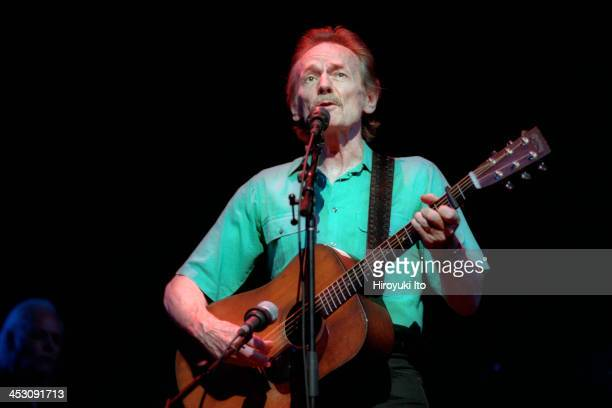 Gordon Lightfoot performing at Town Hall on Wednesday night August 9 2000