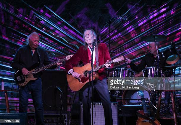 Gordon Lightfoot performs at Sony Hall during the Blue Note Jazz Festival on June 13 2018 in New York City