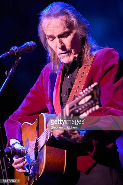 Gordon Lightfoot performs at the Brown Theatre on March 14 2016 in Louisville Kentucky