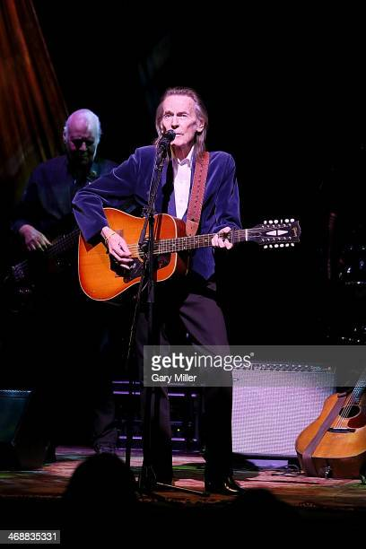 Gordon Lightfoot performs in concert at ACL Live on February 11 2014 in Austin Texas