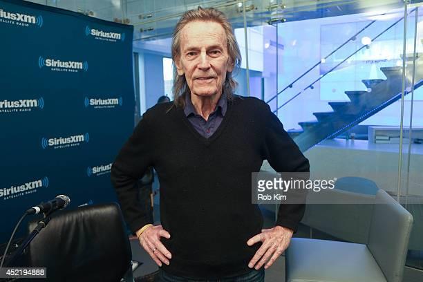 Gordon Lightfoot visits at SiriusXM Studios on July 15 2014 in New York City