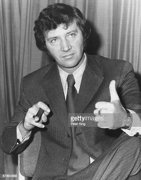 Gordon Mills , chairman of Management Agency and Music Ltd, during the MAM annual general meeting at the Waldorf Hotel in London, 27th January 1971....