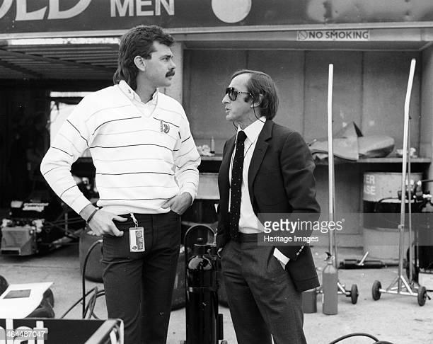 Gordon Murray with Jackie Stewart July 1984 Murray started out working in the drawing office of the Brabham factory At the end of 1972 Bernie...