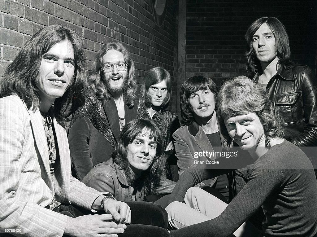 The Alan Bown group shot in West Yorkshire August 1970 : News Photo