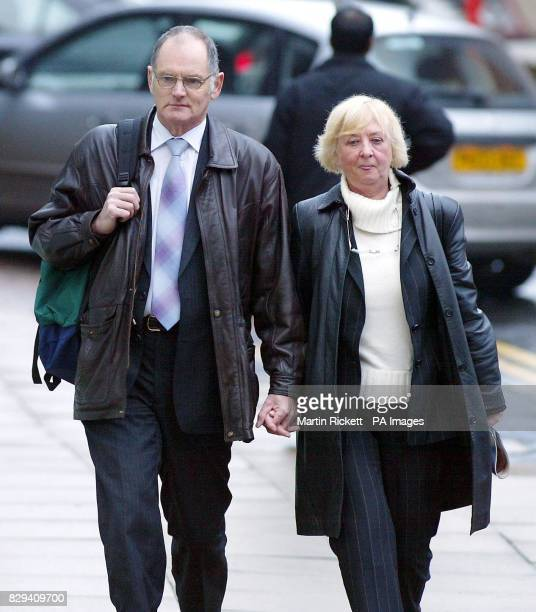 Gordon Park arrives at Manchester Crown Court with his wife Jenny Mr Park is accused of murdering his wife dubbed the Lady in the Lake after her body...