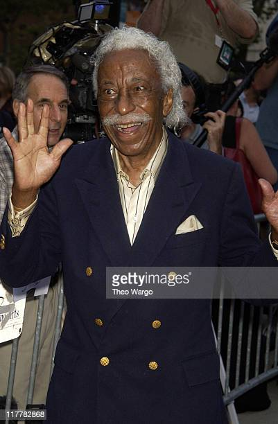 Gordon Parks during 'Casablanca' 60th Anniversary Celebration Screening at Alice Tully Hall Lincoln Center in New York City New York United States