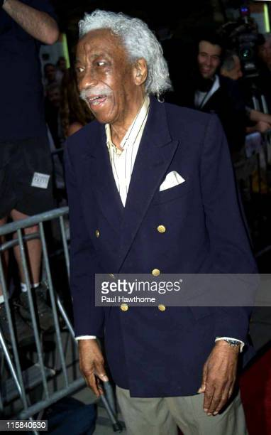 Gordon Parks during 'Casablanca' 60th Anniversary Event Red Carpet at Alice Tully Hall Lincoln Center in New York City New York United States