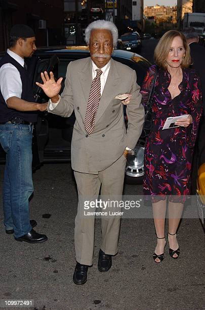 Gordon Parks during The International Center of Photography's TwentyFirst Annual Infinity Awards at Skylight Studios in New York City New York United...