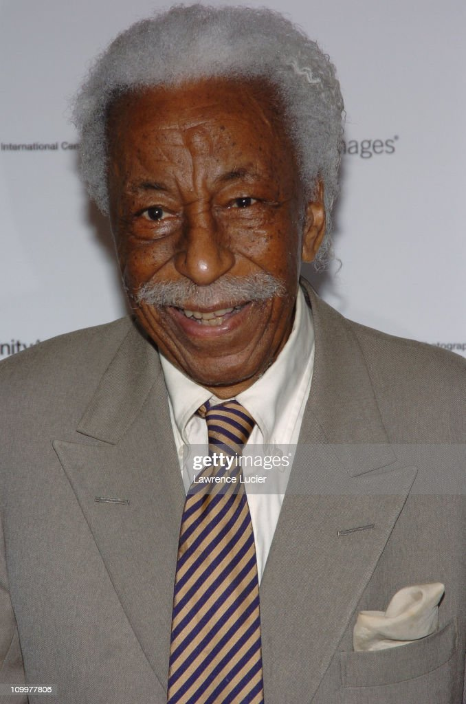 Gordon Parks during The International Center of Photography's Twenty-First Annual Infinity Awards at Skylight Studios in New York City, New York, United States.