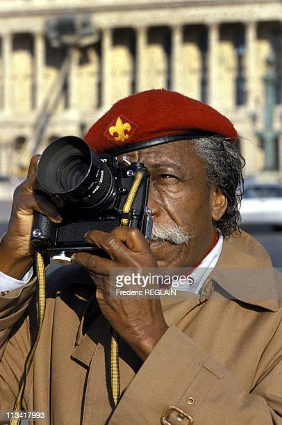 Gordon Parks In Paris On November 14th 1985 In ParisFrance