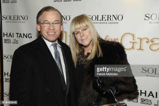 Gordon Pennington and Melody Weir attend Shanghai Tang and Solerno's Premiere of Fay Ann Lee's Falling For Grace at Asia Society on January 26 2010...
