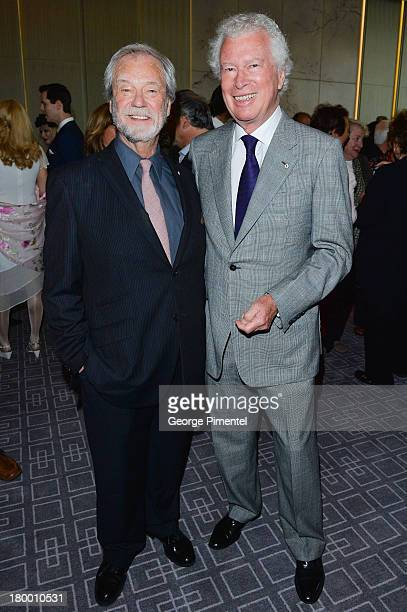 Gordon Pinsent and Ken Taylor attend the George Christy Party during the 2013 Toronto International Film Festival at Four Seasons Hotel on September...