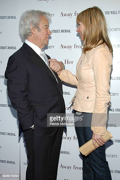 Gordon Pinsent and Kim Cattrall attend THE CINEMA SOCIETY and THE WALL STREET JOURNAL host a screening of 'Away from Her' at IFC Center on May 2 2007...