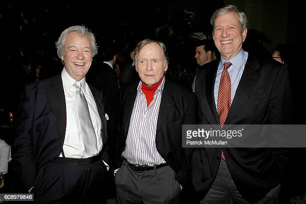Gordon Pinsent Dick Cavett and Michael Murphy attend THE CINEMA SOCIETY and THE WALL STREET JOURNAL after party for 'Away from Her' at Soho Grand...